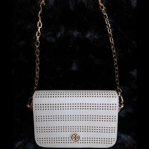 Tory Burch ivory small Bag crossbody shoulder